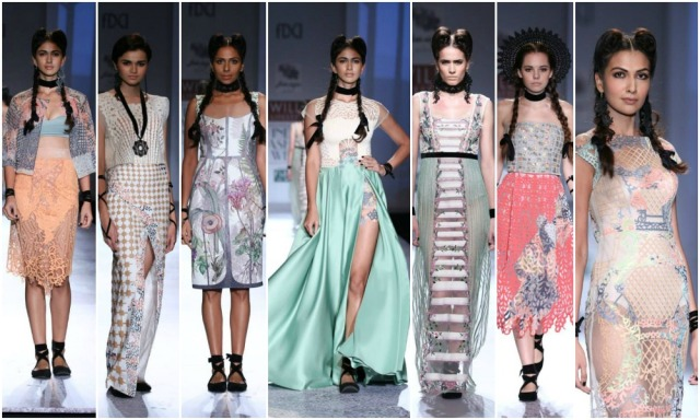 Geisha Designs by Paras and Shalini, Wills India Fashion Week SS 2015, WIFW SS 2015, Runway, Delhi, India